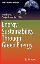 Energy sustainability through green energy