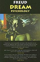 Dream psychology : psychoanalysis for beginners,