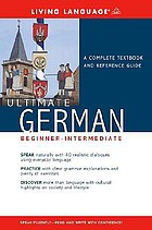 Ultimate German : [beginner-intermediate].