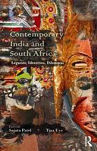 Contemporary India and South Africa : legacies, identities, dilemmas