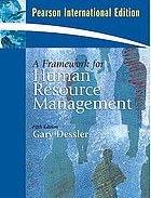 A framework for human resource management