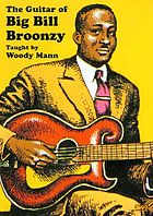 The guitar of Big Bill Broonzy