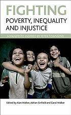 Fighting poverty, inequality and injustice : a manifesto inspired by Peter Townsend.