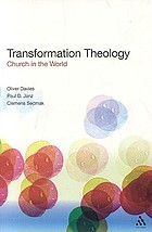 Transformation theology : church in the world