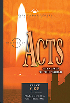The book of Acts : witnesses to the world