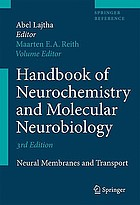 Handbook of neurochemistry and molecular neurobiology. Amino acids and peptides in the nervous system