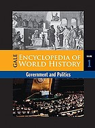 Gale encyclopedia of world history. Governments.