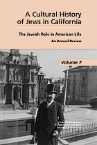 A cultural history of Jews in California