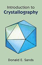 Introduction to Crystallography.