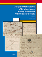 Catalogue of the manuscripts of Christiaan Huygens, including a concordance with his Oeuvres complètes