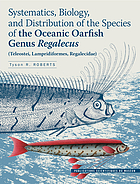 Systematics, biology, and distribution of the species of the oceanic Oarfish genus Regalecus : (Teleostei, Lampridiformes, Regalecidae)