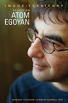 Image and territory : essays on Atom Egoyan