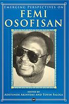 Emerging perspectives on Femi Osofisan