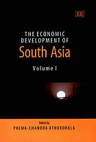 The economic development of South Asia