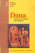 Dāna : giving and getting in Pali Buddhism