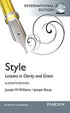 Style : lessons in clarity and grace.
