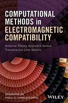 Computational method in electromagnetic compatibility : antenna theory approach versus transmission line models