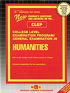 New Rudman's questions and answers on the ... CLEP College Level Examination Program / general examination in humanities : how to get college credit without going to college! Intensive preparation for the examination