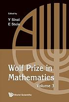 Wolf Prize in Mathematics : Volume 3