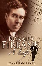 Ronald Firbank : a biography