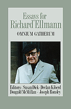 Essays for Richard Ellmann : omnium gatherum