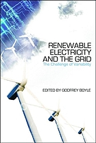 Renewable electricity and the grid : the challenge of variability