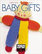Vogue knitting baby gifts