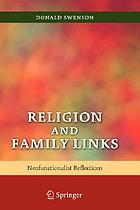 Religion and family links : neofunctionalist reflections