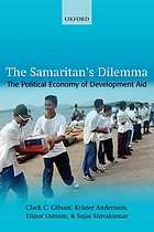 The samaritan's dilemma : the political economy of development aid