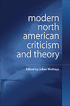 Modern North American criticism and theory : a critical guide