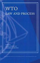 WTO law and process