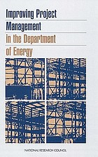 Improving project management in the Department of Energy