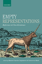 Empty representations : reference and non-existence