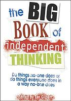 The big book of independent thinking.