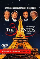Tibor Rudas presents The 3 tenors, Paris, 1998