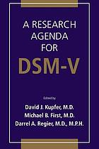 A research agenda for DSM-V
