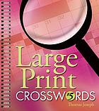 Large print crosswords. #5