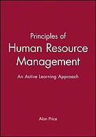 Principles of human resource management : an active learning approach