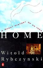 Home : a short history of an idea
