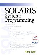 Solaris systems programming