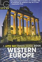 Let's go. Western Europe 2005