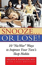Snooze-- or lose! : 10
