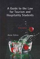 A guide to the law for tourism and hospitality students