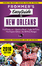 Frommer's easyguide to New Orleans 2016