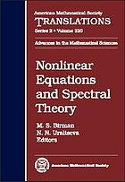 Nonlinear equations and spectral theory