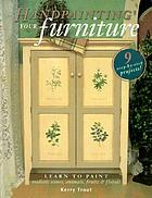 Handpainting your furniture