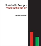 Sustainable energy--without the hot air