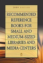 Recommended reference books for small and medium-sized libraries and media centers. Volume 29