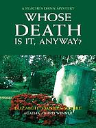 Whose death is it, anyway