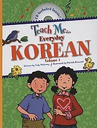 Teach me-- everyday Korean. Volume 1